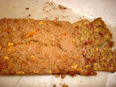 Рецепт Банановый хлеб с клубникой
