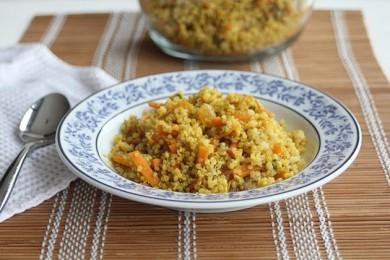 Рецепт Киноа по-мароккански