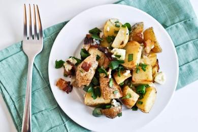 Рецепт Печеный картофель с беконом