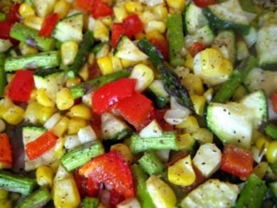 Рецепт Печеные овощи