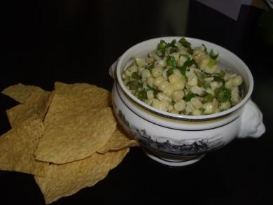 Рецепт Кукурузный салат с халапеньо