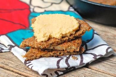 Рецепт Плоский рисовый хлеб