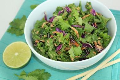 Рецепт Капустный салат с ореховым соусом