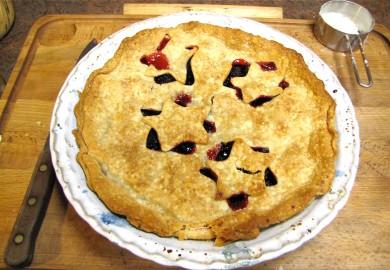 Рецепт Ежевичный пирог