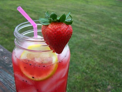 Рецепт Ягодный лимонад