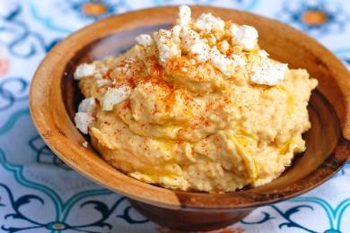 Рецепт Пряный хумус
