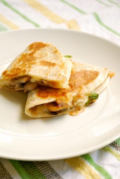 Рецепт Вегетарианская кесадилья