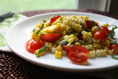 Рецепт Кукурузный салат