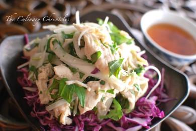 Рецепт Куриный салат с кинзой