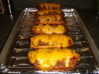 Рецепт Домашние чизбургеры