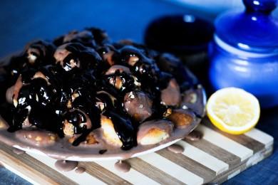 Рецепт Дамские пальчики с орешками и изюмом.