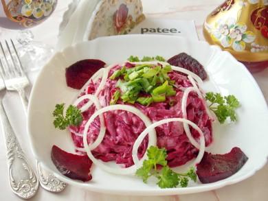 Рецепт Салат из сельди  со свеклой
