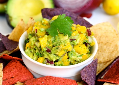 Рецепт Сальса с манго  и авокадо