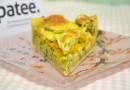 Пирог-киш Овощная грядка