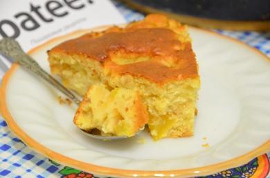 Рецепт Пирог со сливами и фундуком