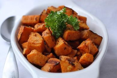 Рецепт Запеченный сладкий картофель