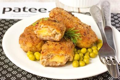 Рецепт Мясные палочки с сыром