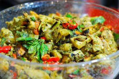 Рецепт Картофельный салат с перцем