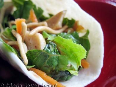 Рецепт Имбирный соус для салата