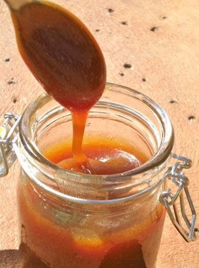 Рецепт Соленый карамельный соус