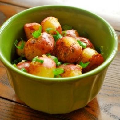 Рецепт Жареный красный картофель