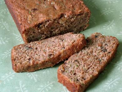 Рецепт Кабачковый хлеб с орехами