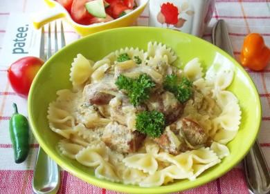 Рецепт Свинина в медово-горчичном соусе