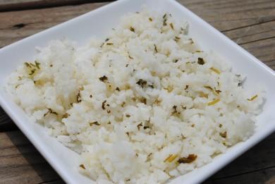Рецепт Рис с кинзой и лаймом