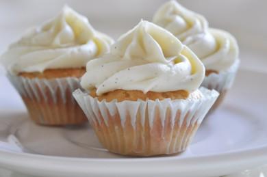 Рецепт Ванильные кексы с ганашем