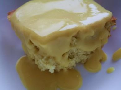 Рецепт Пудинг с заварным кремом