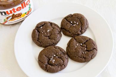 Рецепт Шоколадное печенье с морской солью