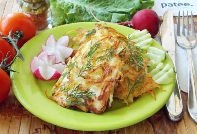 Рецепт Филе куриной грудки в картофельной соломке