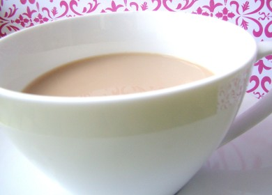 Рецепт Чай латте