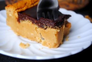 Рецепт Пирожное с шоколадным ганашем