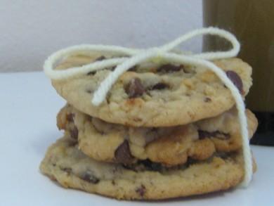 Рецепт Кофейное печенье с шоколадом
