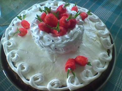 """Рецепт торт """"клубничка"""""""