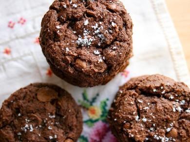 Рецепт Соленое шоколадное печенье