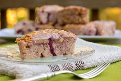 Рецепт Печенье с вишней и шоколадом