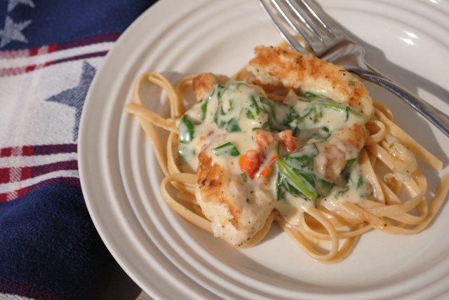 Паста с курицей по-итальянски рецепт
