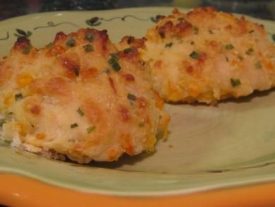 Рецепт Сырно-чесночное печенье