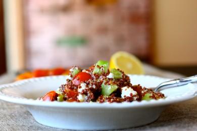 Рецепт Средиземноморский салат из киноа