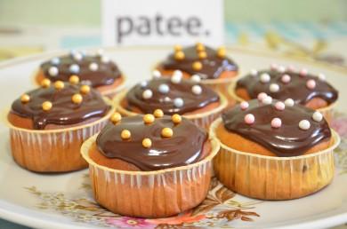 Рецепт Банановые кексы с шоколадными каплями