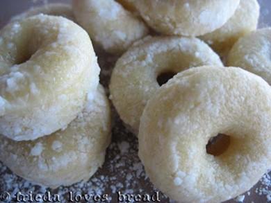 Рецепт Пончики в сахарной пудре