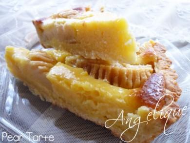 Рецепт Грушевый тарт