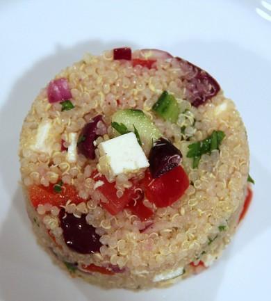 Рецепт Перуанский салат из киноа с овощами