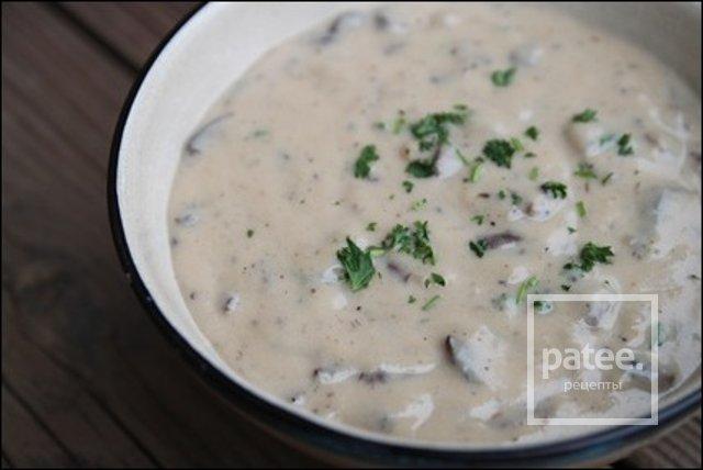 Калорийность крема супа из шампиньонов