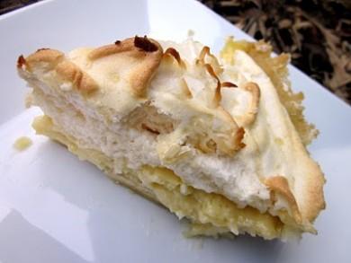 Рецепт Кокосовый пирог с меренгой