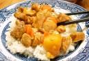 Курица с морковью и ананасом в бальзамическом соусе