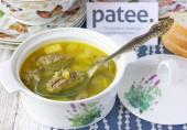 Суп с печёночными кнелями