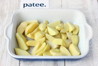 Скумбрия, запечённая с картофелем и помидорами - Шаг 6